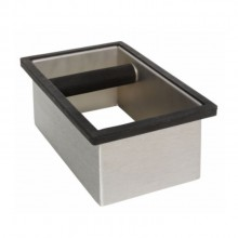 In-Counter coffee grounds knock box