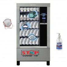 GPE DRX 50 - vending machines for hygiene items against COVID 19