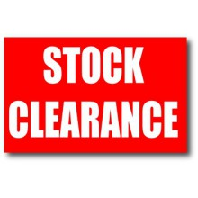 Stock clearance / 30% - 50% Discount